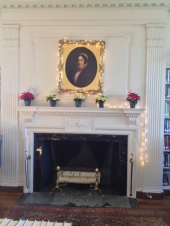 Mrs. Salter Storrs over our south fireplace.